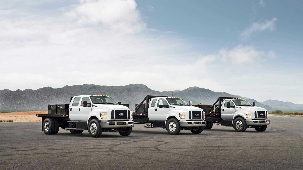 Ford f-650 f-750 trucks