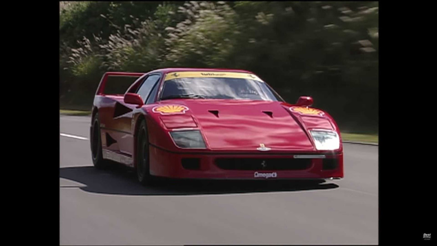 Ferrari F40, F50 ve Lamborghini Diablo'nun savaşı