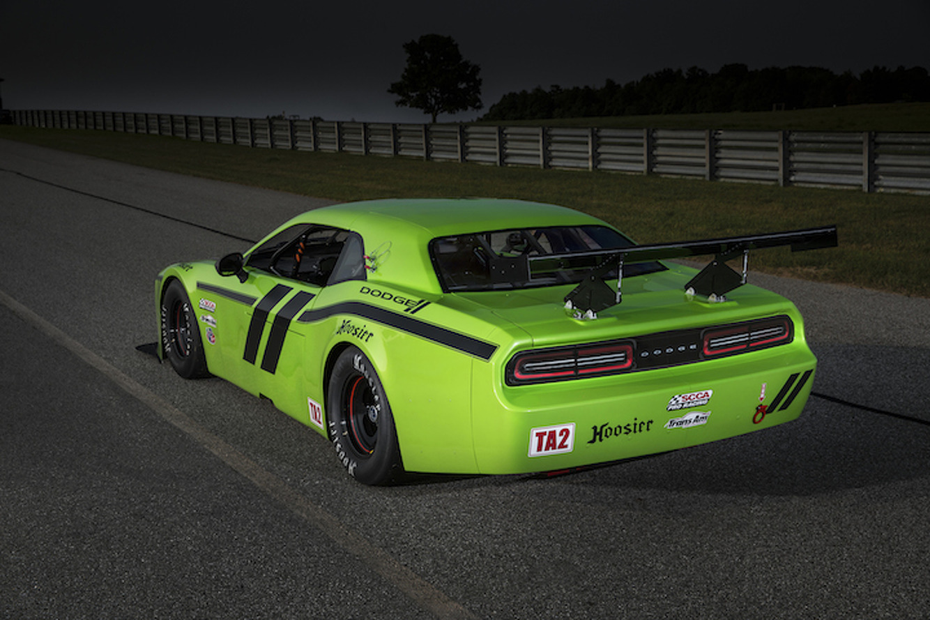 Dodge Challenger SRT Trans Am is Ready to Race