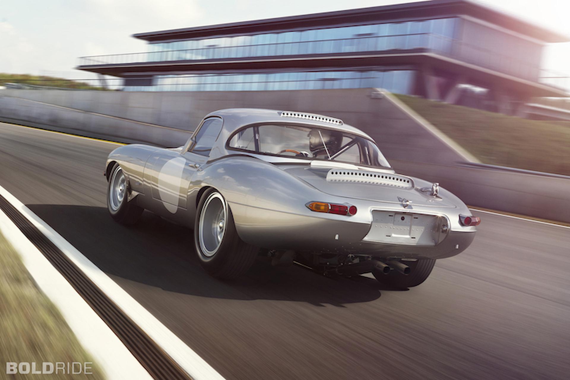 Jaguar E-Type Lightweight is a Stunning Homage Built for Racing [w/Video]