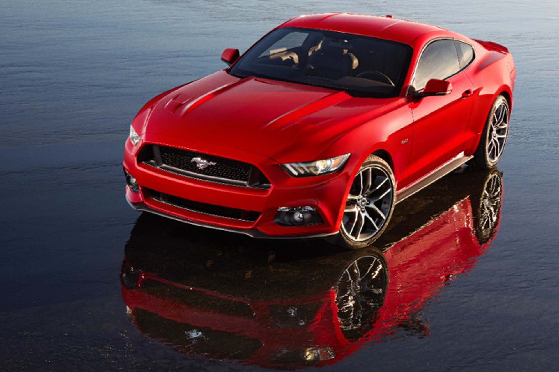 2015 Ford Mustangs Roll Off Assembly Line