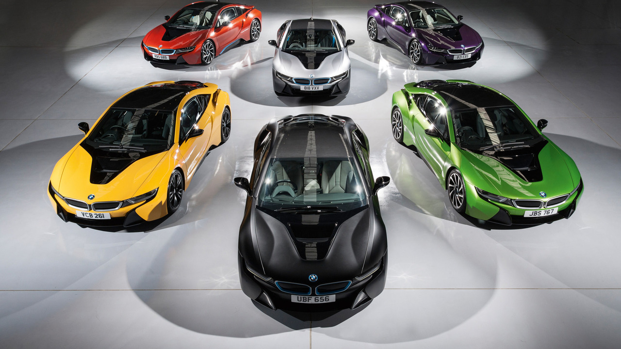 Rainbow Of New Colors Lets Bmw I8 Brighten Up In The U K