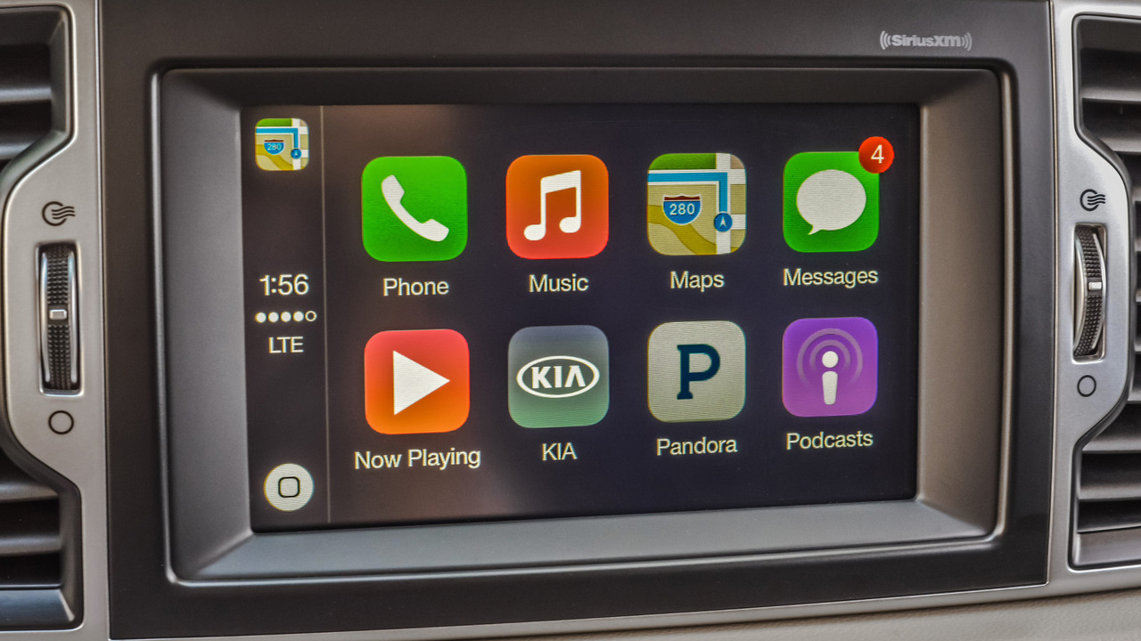 Kia Apple CarPlay