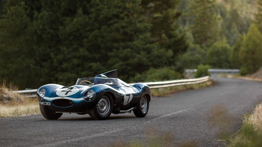 Le Mans'ı kazanan Jaguar D-Type Monterey'de 21.78 Milyon dolara satılarak rekor kırdı