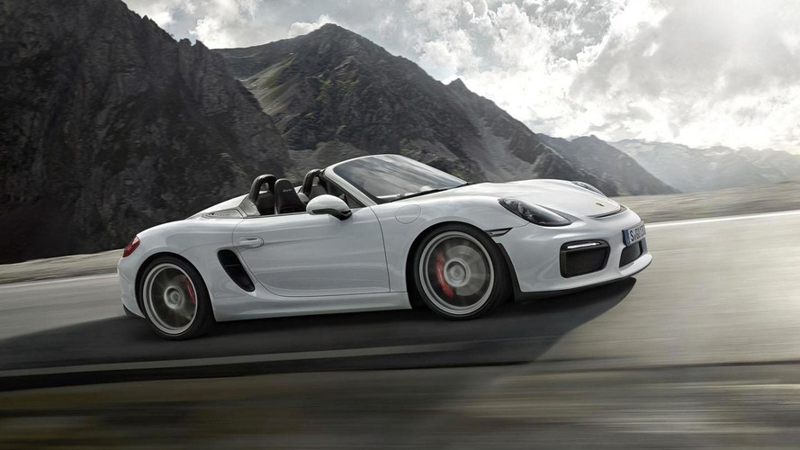 Porsche Boxster Spyder GT4 and Cayman GT4 RS could happen