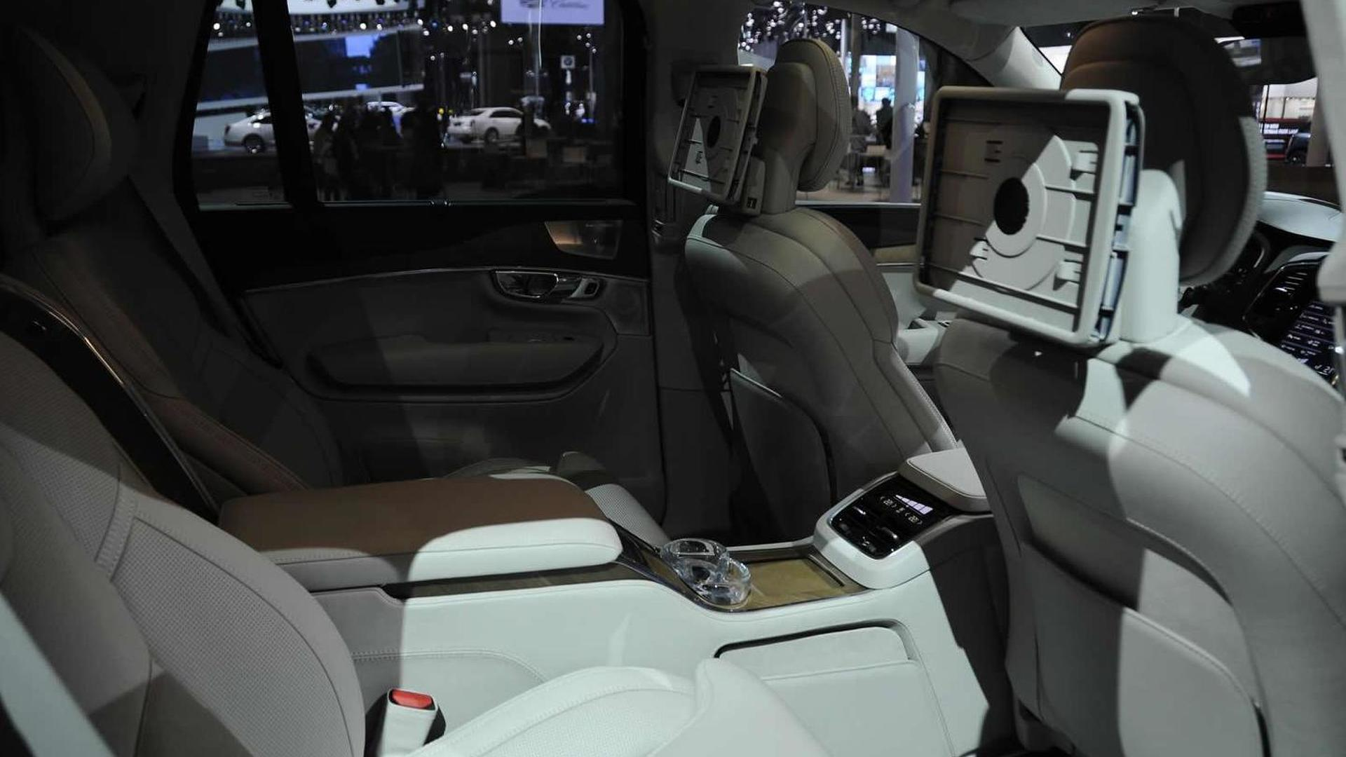 Volvo Xc90 Excellence Four Seater Brings Some Style To Shanghai