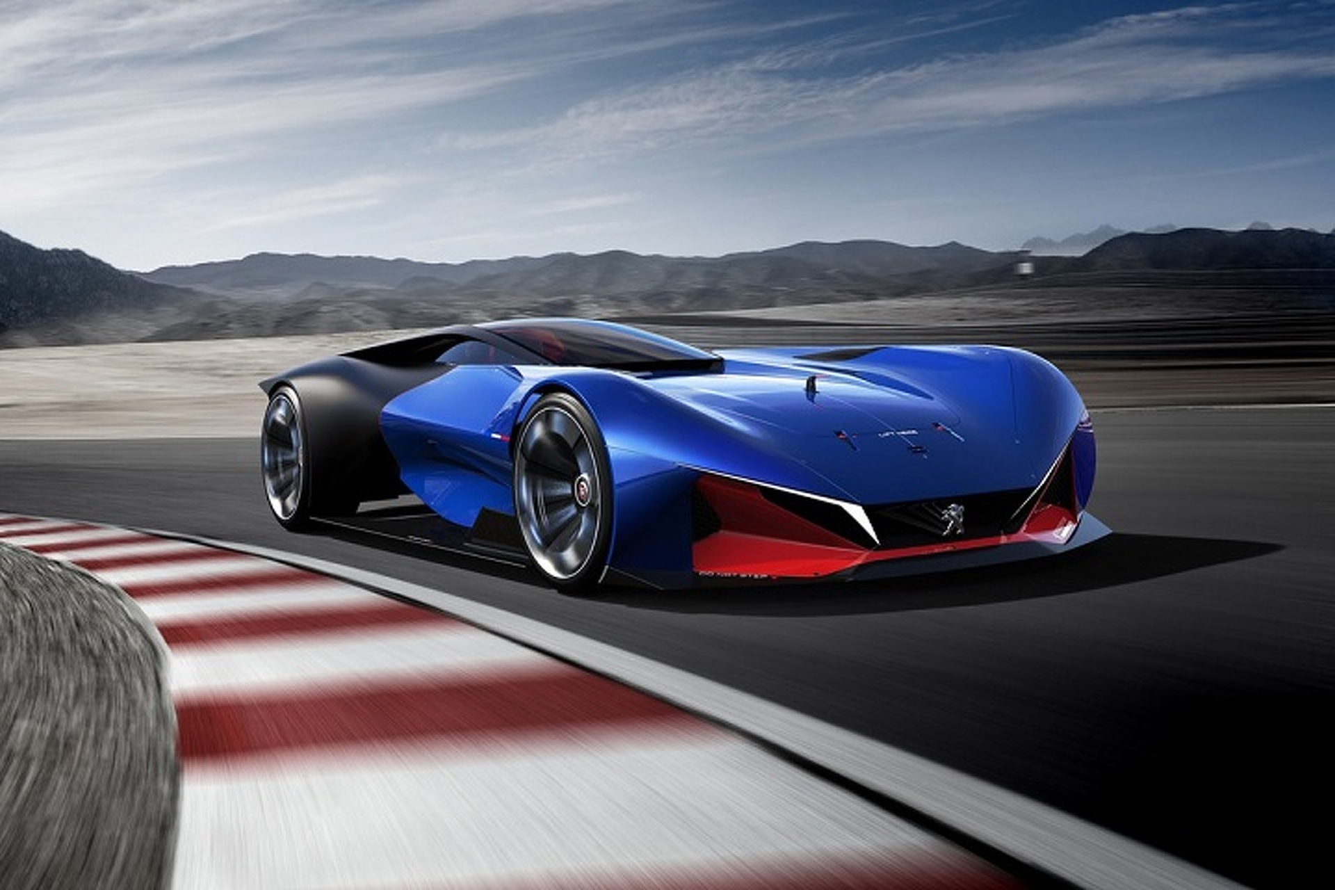 Peugeot Dished Out A Delicious Hybrid Sports Car Concept Motor1