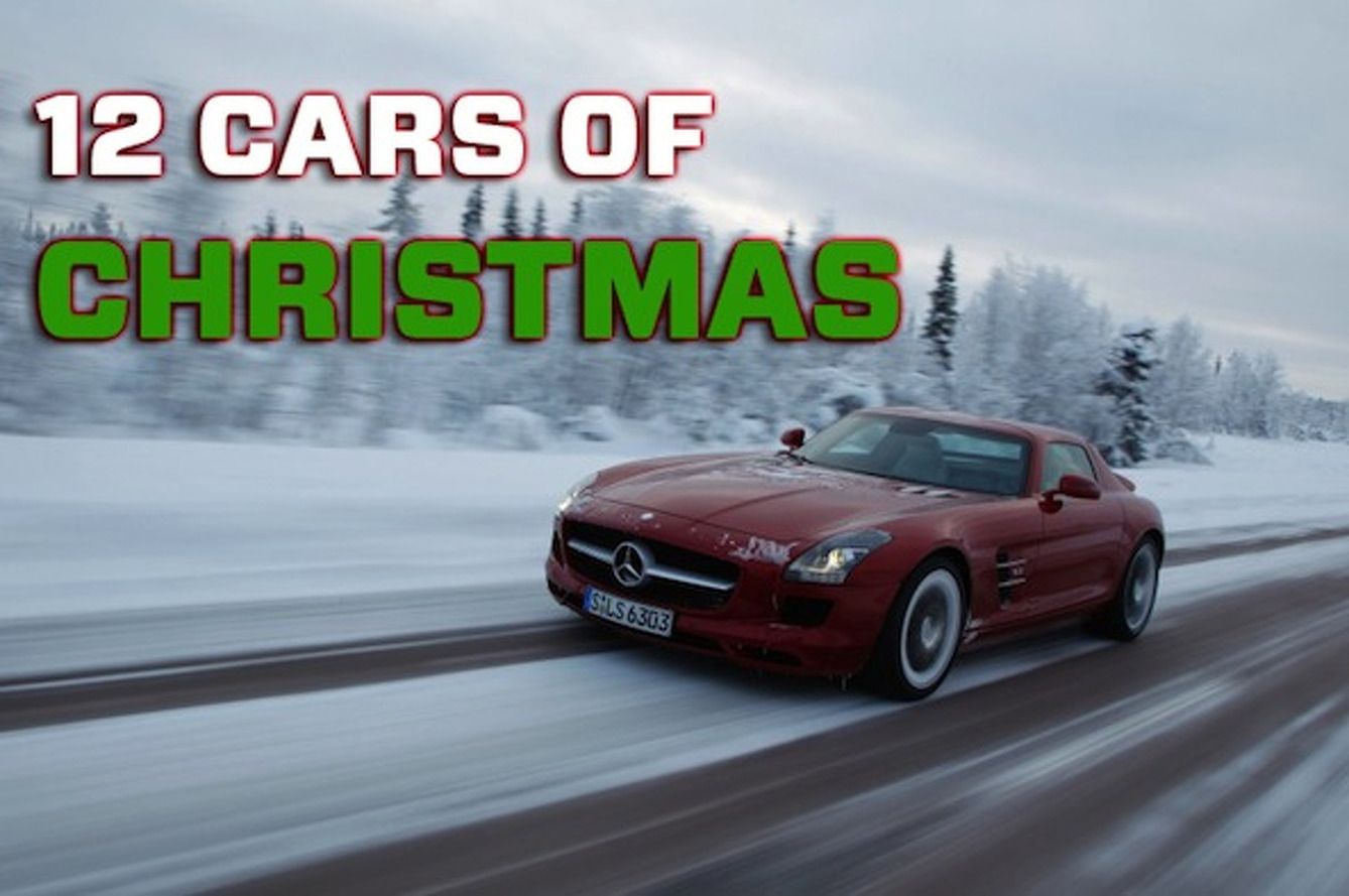 Christmas Sports Car.The 12 Cars Of Christmas