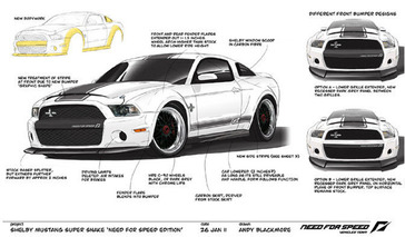 1-of-1 'Need for Speed' Shelby GT500 Comes up for Auction
