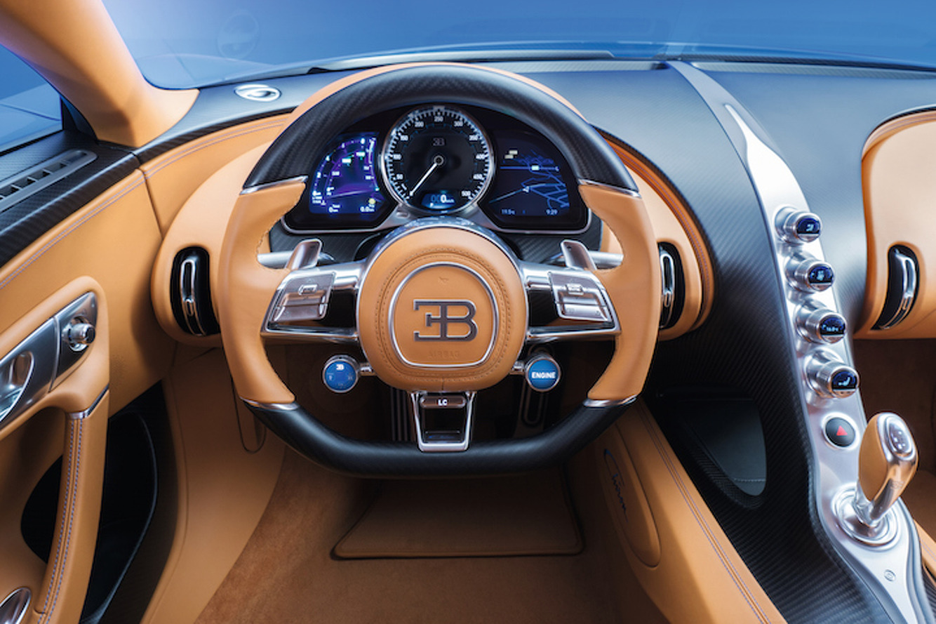 Take a 360-Degree Video Tour of the Bugatti Chiron's Opulent Interior