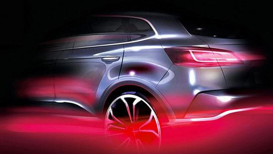 Borgward teases their crossover once more ahead of IAA exhibit