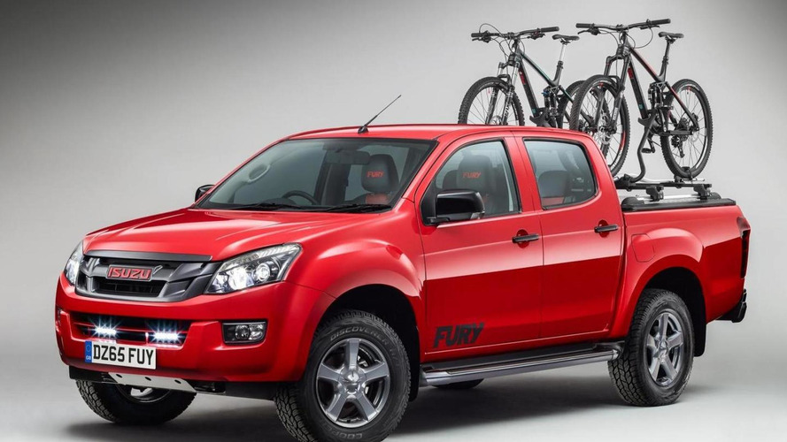 Isuzu D-Max Fury announced for the U.K.