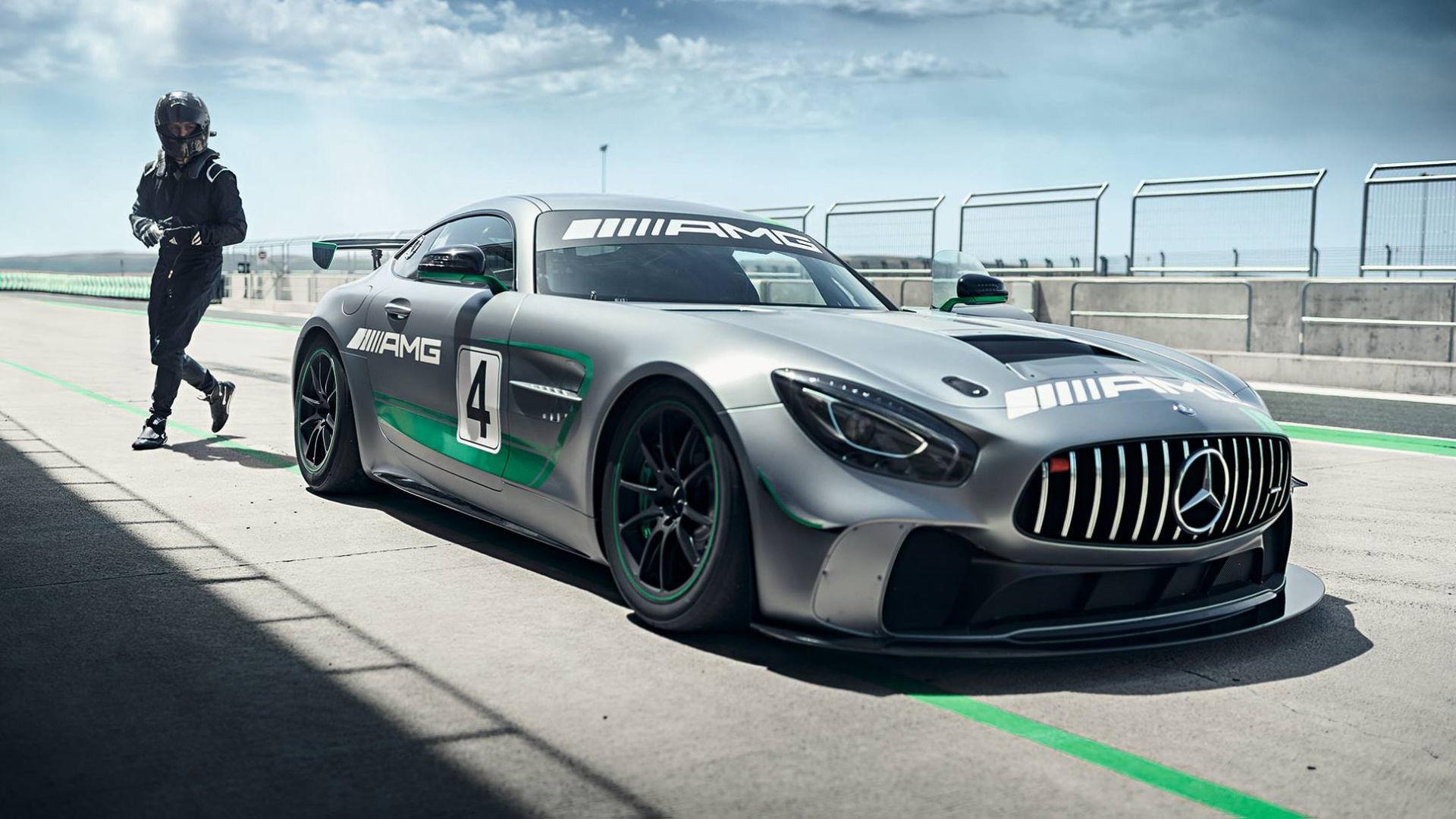 Mercedes AMG deixará de ter modelos com tração traseira Mercedes-amg-gt4