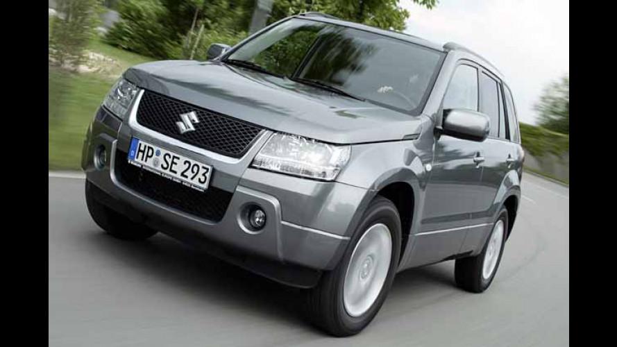 Suzuki: Grand Vitara ab Januar 2006 mit Dieselmotor am Start