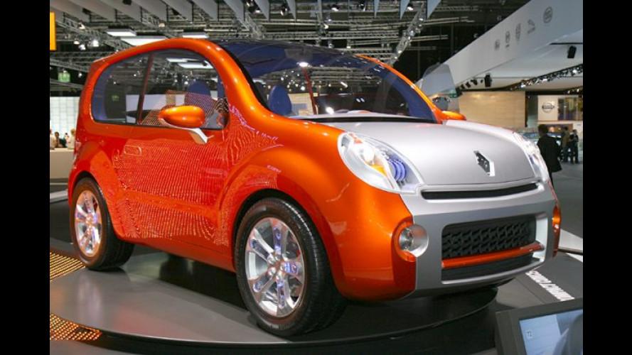 Renault Kangoo Studie: Praktischer Freizeitbegleiter