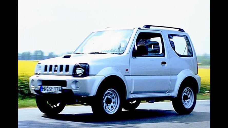 Suzuki Jimny: Neuer 1.5 TD Dieselmotor und Sondermodell