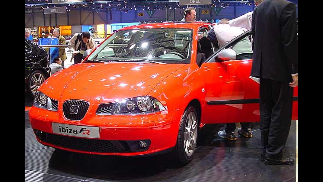 Genfer Autosalon 2004, die wichtigste Automesse des Jahres 2004 - Highlights von den Pressetagen