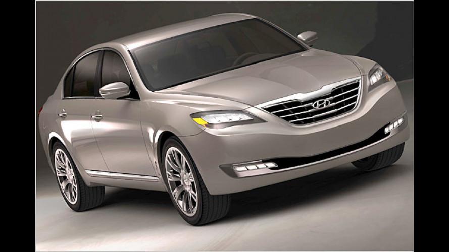 Hyundai Genesis Studie: Die Geburt einer edlen Limousine