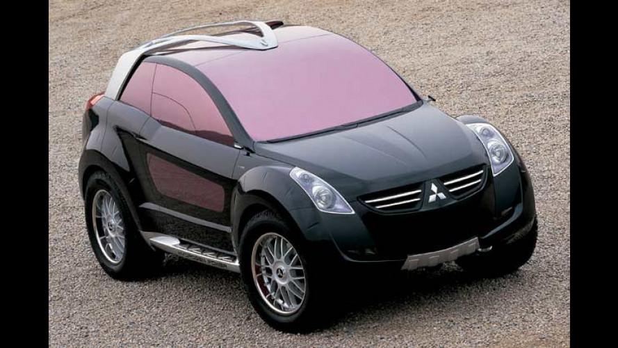 Öko-SUV Mitsubishi Nessie von Italdesign Giugiaro