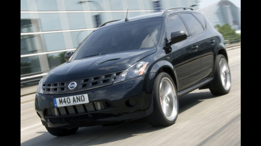 Schwarzer Power-Murano: Nissan stellt Studie GT-C vor