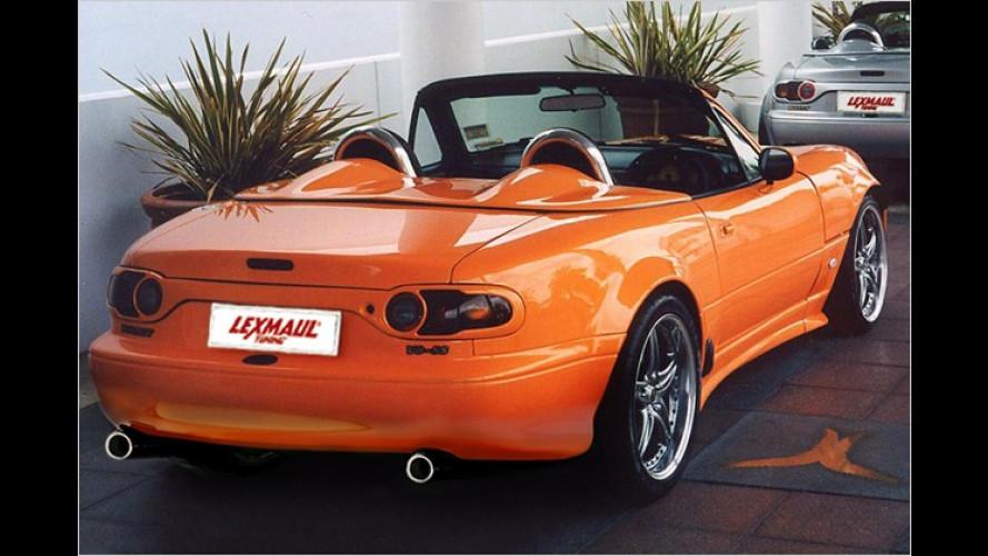 Lexmaul lässt den Roadster Mazda MX-5 tief grummeln