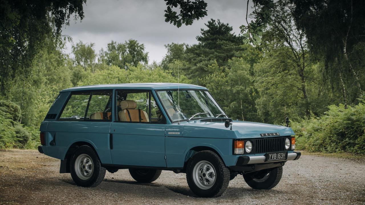 Range Rover Velar Prototype