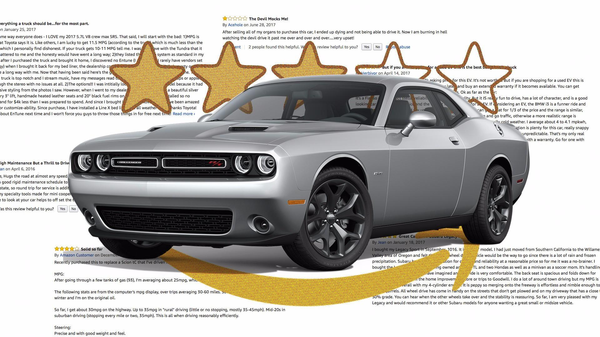 Best and Worst Amazon Car Reviews