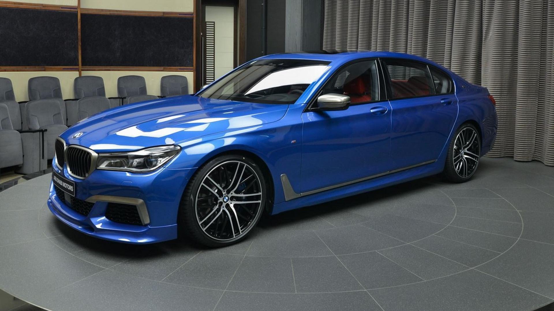 Bmw M760li Xdrive Estoril Blue 2261583