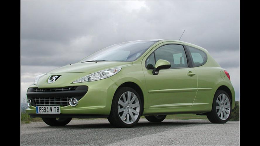 Löwe mit Bärenkraft: Test Peugeot 207 Platinum 150 Turbo