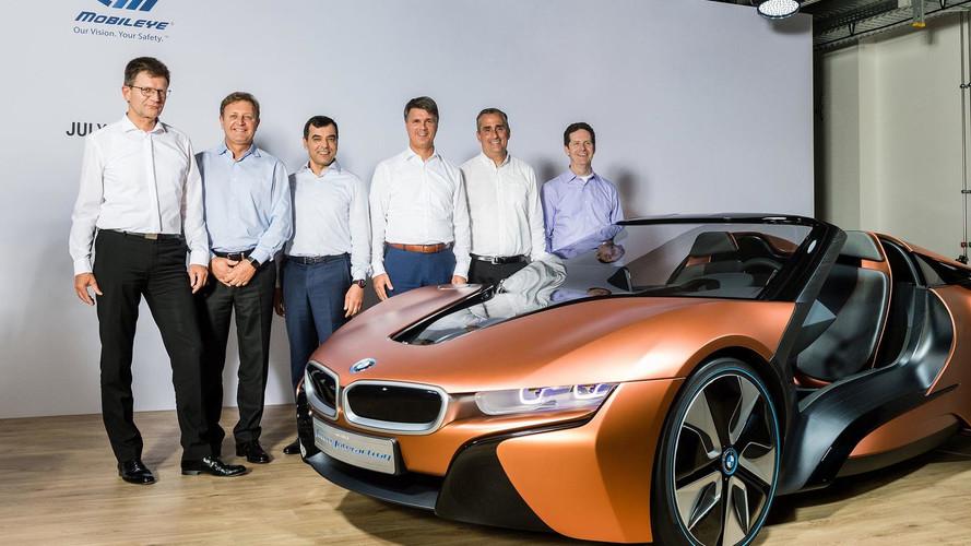 Intel va mettre sur les routes 100 véhicules autonomes