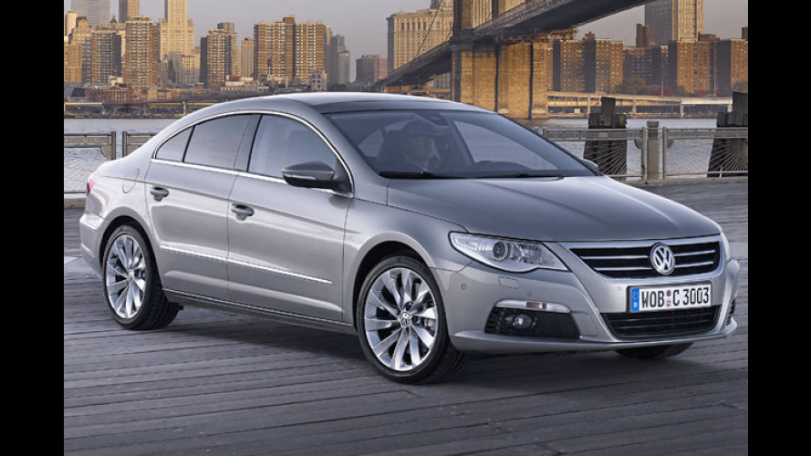 VW-Coupé: Der Passat CC debütiert auf der Detroit-Messe