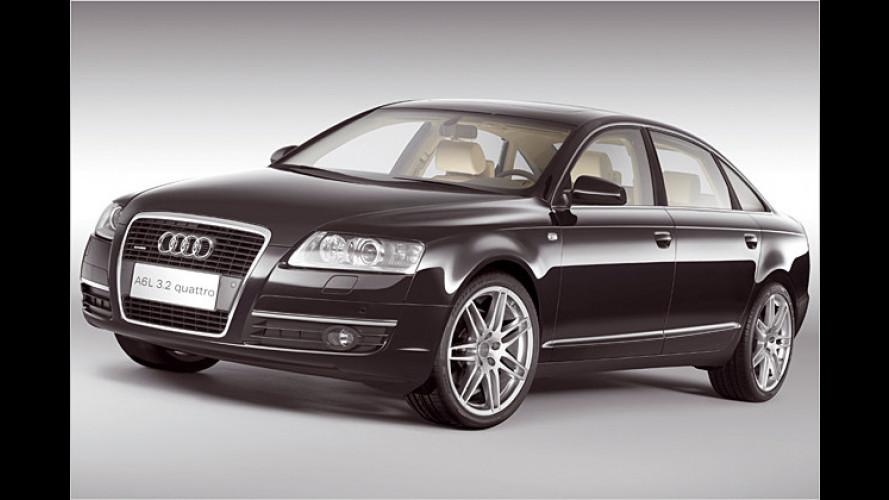 Unterhaltung für Chinesen: Audi A6L als Kino auf vier Rädern