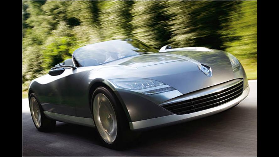 Renault Nepta: Luxuscabriolet von morgen mit Flügeltüren