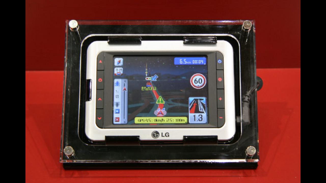 LG LN-Serie: Neue Navis aus Asien