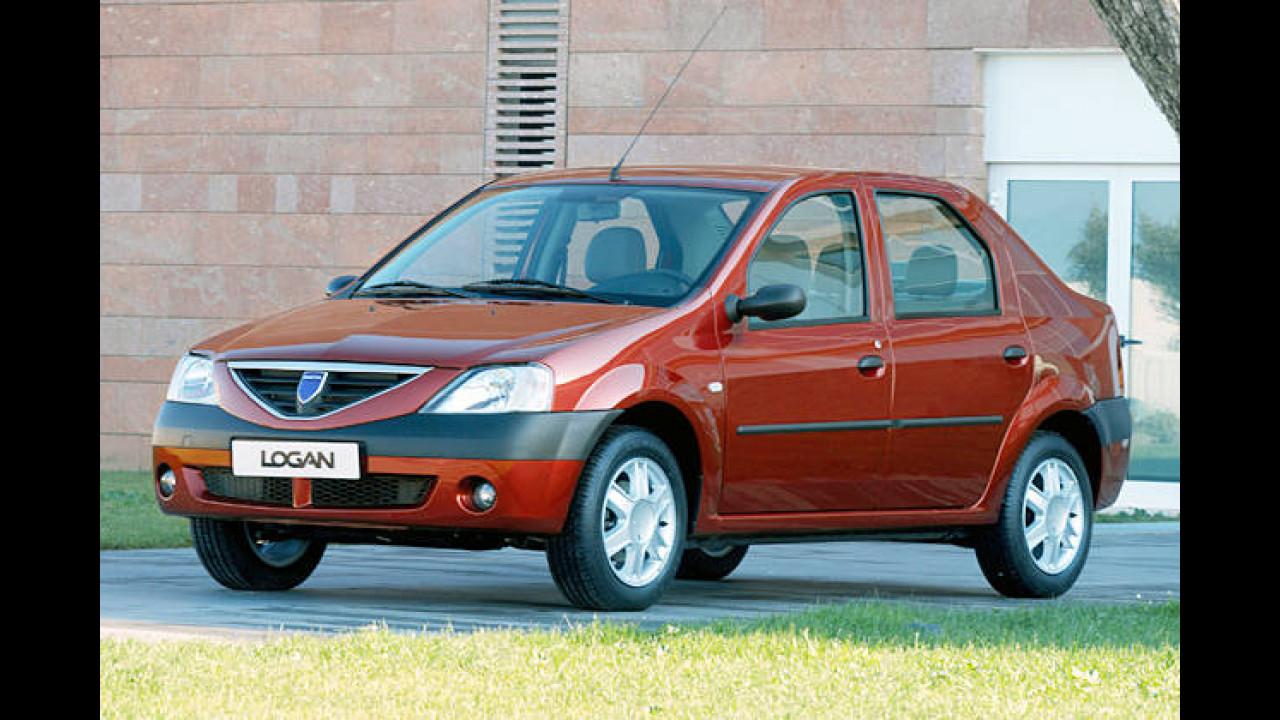 Platz 1: Dacia Logan 1.4