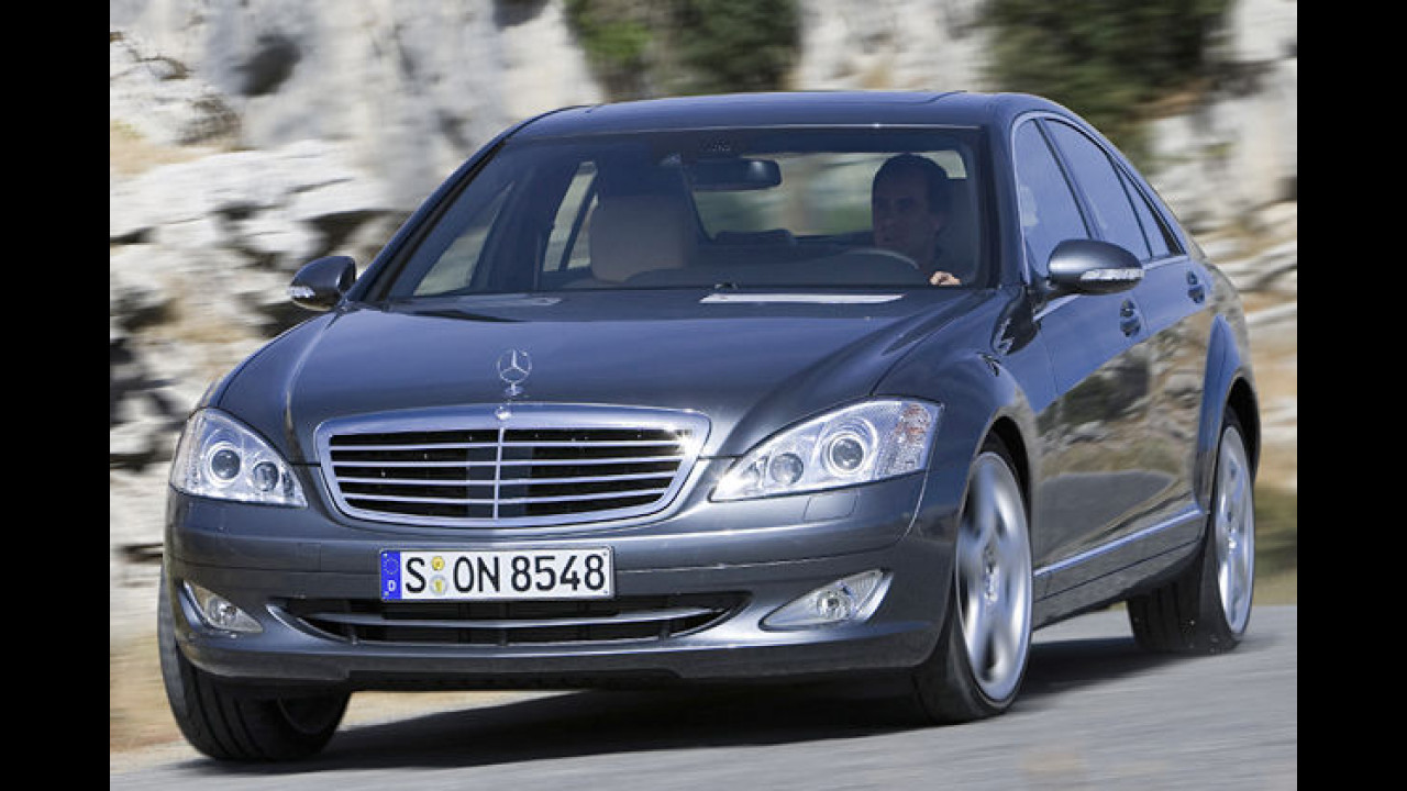 Mercedes S 420 CDI 7G-Tronic DPF