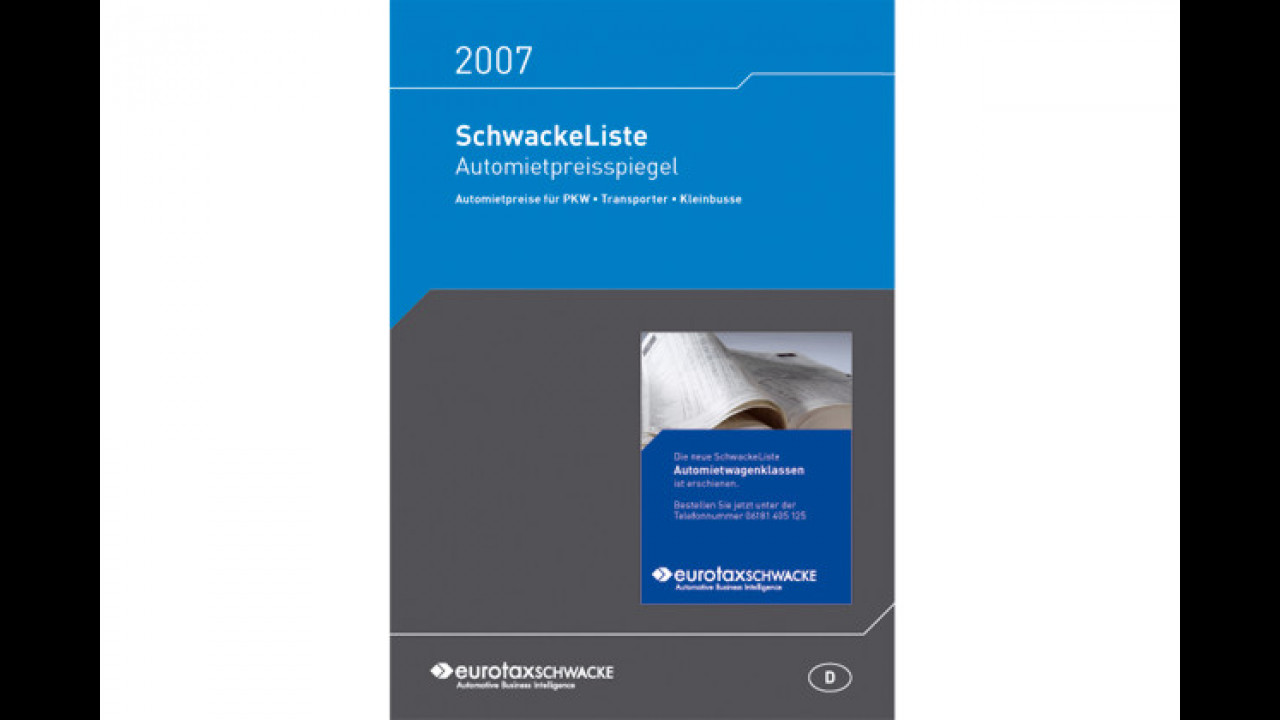 Automietpreisspiegel 2007