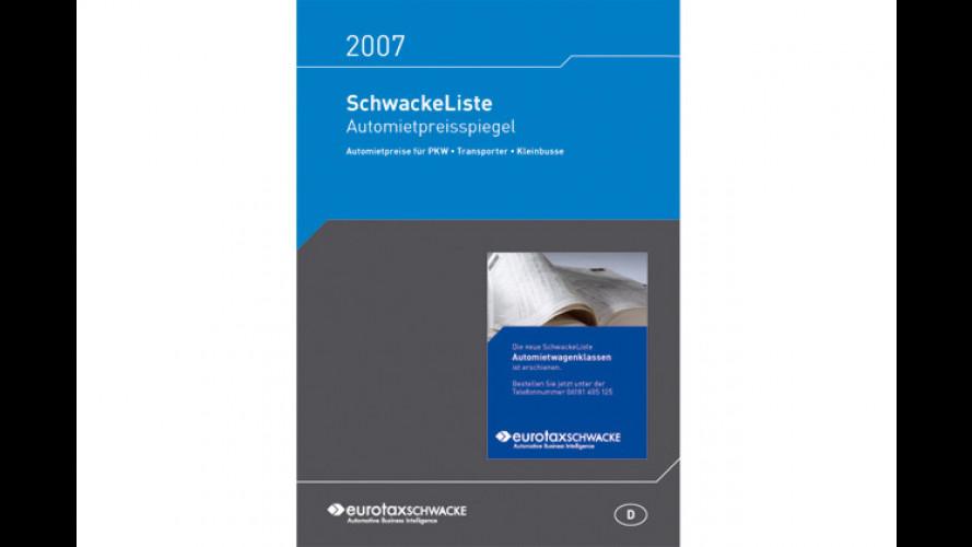 EurotaxSchwacke bringt den Automietpreisspiegel 2007