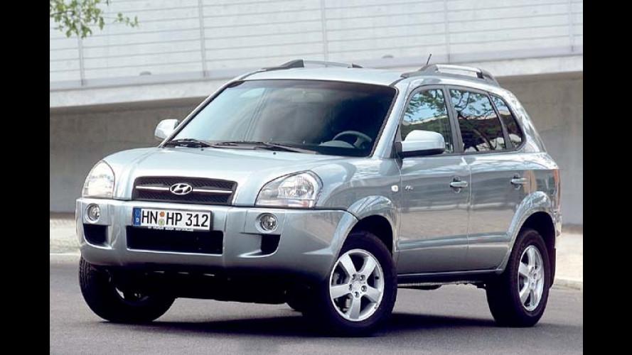 Hyundai Tucson: Kleiner Bruder des Santa Fe ab 18.390 Euro