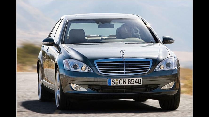 Start für das neue Diesel-Topmodell in der S-Klasse