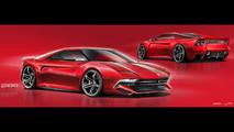 Ferrari 288 GTO 2020 render