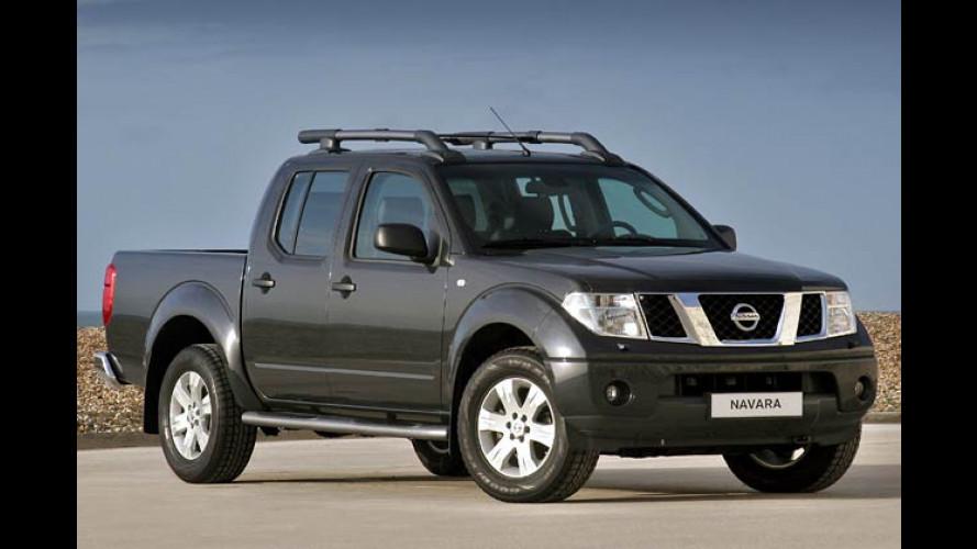 Nissan Pick-Up Navara (2005): Pathfinder mit offener Ladefläche