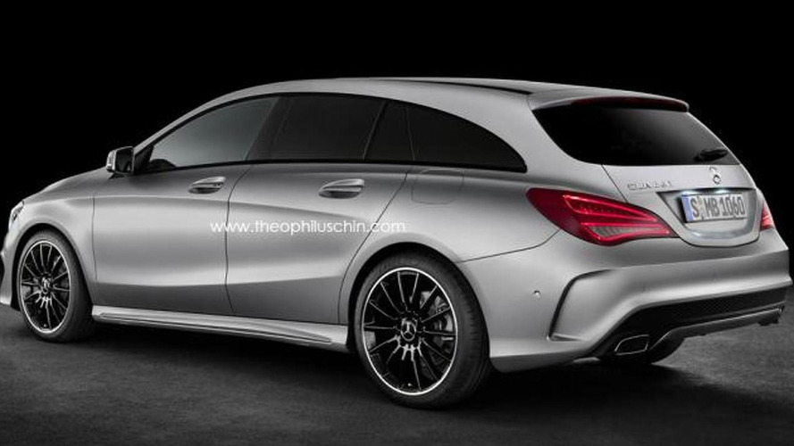 Mercedes-Benz CLA Shooting Brake confirmed