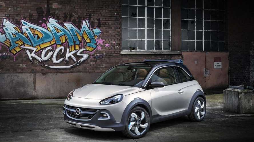 Rugged Opel Adam in the works - report