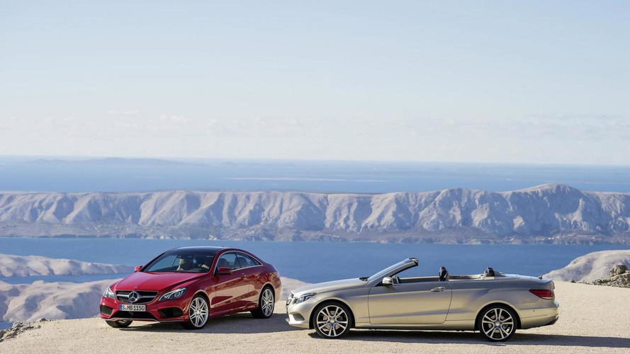 2014 Mercedes-Benz E-Class Coupe and Cabriolet facelift revealed [VIDEO ADDED]