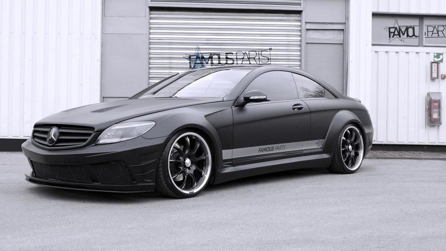 Famous Parts introduces the Mercedes CL 500 Black Matte Edition