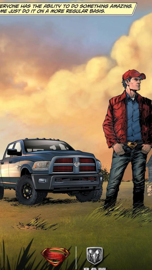 Ram unveils a Superman-themed Power Wagon [video]