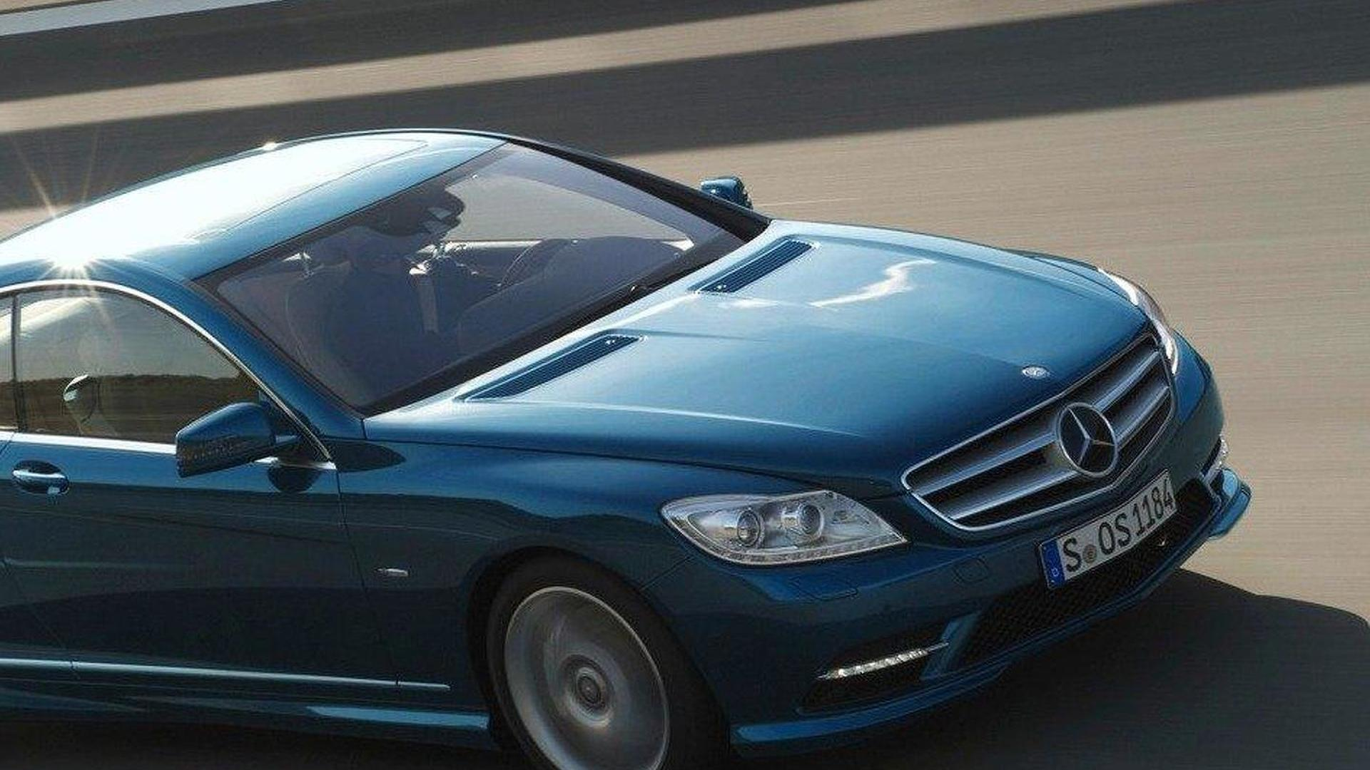 2017 Mercedes Benz Cl Facelift Revealed Public Debut At Goodwood Fos 2010 Video