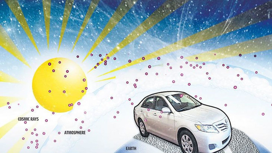 Are Cosmic Rays the Cause of Toyota's Sudden Acceleration Problems?