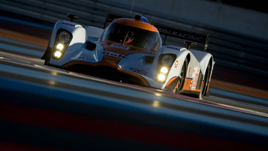 Aston Martin Racing LMP1 Car Debuts at Paul Ricard Circuit
